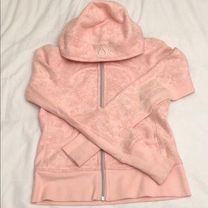 Pink paisley lululemon scuba hoodie size 6.